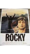 "Rocky French Release Original Movie Poster (1977) 47"" x 63"" FINE"