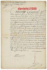Marie Antoinette laissé le 31 décembre 1783 un Document pour l administateur roy