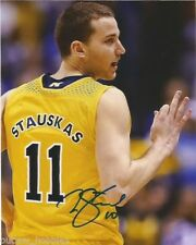 Michigan Wolverines Nik Stauskas Autographed Signed 8x10 Photo COA A