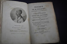 1818 *RARE & FIRST* Voyage de M Golovnin