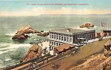 SAN FRANCISCO CALIFORNIA CLIFF HOUSE FROM SUTRO HEIGHTS POSTCARD (c. 1910)