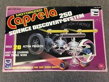 Vintage 1978 Play-Jour Capsela 250 Motorized Science Discovery System Set