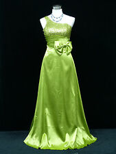 Cherlone Green Ballgown Wedding Evening Bridesmaid Formal Full Length Dress 12
