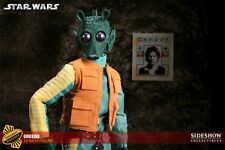 "STAR WARS GREEDO SIDESHOW EXCLUSIVE 12"" 1/6 FIGURE MIB DOUBLE BOXED 1 OF 750"