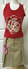 Ladies Womens Teddy Smith Size 10 Skirt Top Bundle BNWT