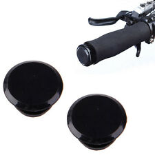 6PCS ROAD BIKE Handlebar Drop Race Push In Handle Bar End Caps Plugs Bungs BLACK