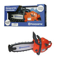 Husqvarna Battery Operated Toy Chain Saw With Realistic Saw Sounds