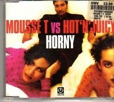 (CX430) Mousse T VS Hot 'N' Juicy, Horny '98 - 1998 CD