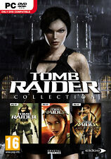 "LARA CROFT: TOMB RAIDER COLLECTION ( PC DVD) "" BRAND NEW & FACTORY SEALED"""