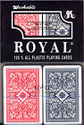 4 Decks 100% PLASTIC Casino Royal Jumbo Index Narrow POKER Playing Cards NEW 4 *