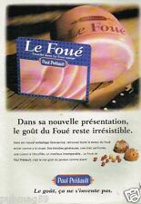 Publicité advertising 1997 Charcuterie Jambon Paul Prédault