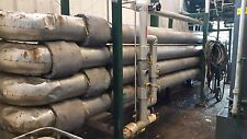 "Plug Flow Reactor, 243' Long, 8"" S40 CS Pipe, Biodiesel / Chemical Reactor"