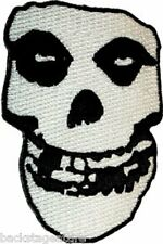 The Misfits Fiend Skull Crimson Ghost Danzig Sew/Iron On Patch Badge Applique