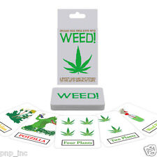 Weed Pot Growing Smoking Marijuana Card Game Fun Strategy Stoner Gag Adult Party