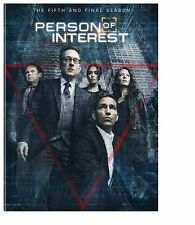 Person of Interest: Season 5 The fifth season (DVD, 2016, 3-Disc Set)
