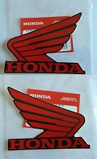 GENUINE Honda Decal Wing Sticker RED / BLACK 100x80MM CBR600 CBR900 FIREBLADE