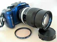 TESTED HOYA F2.8/135mm TELEPHOTO/PORTRAIT LENS - CANON FD FIT -ADAPT DSLR or MFT