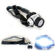 HEADTORCH - 4 MODE 12 LED FLASHLIGHT HEAD TORCH LIGHT LAMP