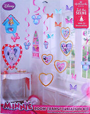 Disney Minnie Mouse Child's Party Room Transformation Kit -Decorations, Supplies