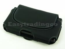 Leather Case Pouch Holster Holder Belt Loop & Clip for LG G3 Stylus / G Flex 2