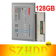 "1.8"" Zif Ce Ssd 128GB para Dell D420 D430 HP 2510P 2710P Ipod Classic 6th/7th Gen"
