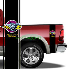 2PCS Racing Stripe Rumble Bee Truck Vinyl Stickers Decal For 1500 2500 RAM (L&R)