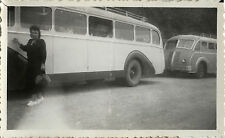 PHOTO ANCIENNE - VINTAGE SNAPSHOT - BUS AUTOBUS CAR AUTOCAR TRANSPORT VOYAGE