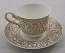 Villeroy & and Boch Heinrich FRESCO GOLD espresso cup and saucer NEW