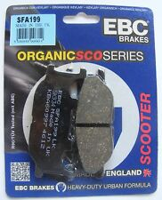 Adiva AD 200 / AR 200 (2009 to 2011) EBC REAR Disc Brake Pads (SFA199) (1 Set)