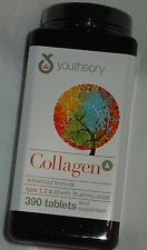 Youtheory Collagen Advanced Formula 390 Tablets Sealed