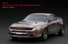 1:43 HPI DIECAST #8178 - Toyota Celica Turbo 4WD (Metal Polish Model)