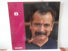 "georges brassens""n°8""lp10"".or.Fr.philips:76.512.r.mono de 1961."