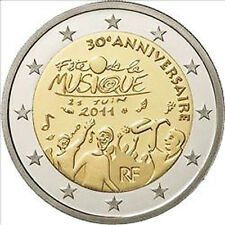 France 2011 - 2 Euro Comm - 30th Anniversary of the Festival of Music (UNC)
