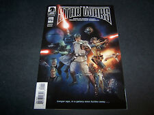 THE STAR WARS #1 DARK HORSE 1ST PRINTING BASED ON GEORGE LUCAS' ORIGINAL DRAFT
