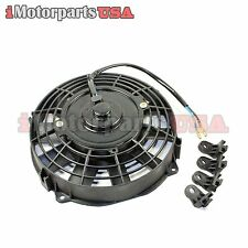 AFTERMARKET 12V RADIATOR COOLING FAN FOR HONDA YAMAHA 200CC 250CC 300CC ATV QUAD