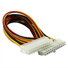 1 Foot ATX 24pin Power Extension Cable Cord For PC Computer Motherboard