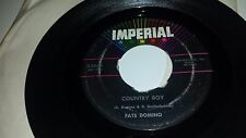 """FATS DOMINO Country Boy / If You Need Me IMPERIAL 5645 45 7"""""""
