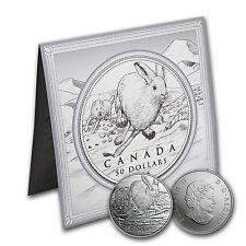 2016 Canada 1/2 oz Silver $50 Hare - SKU#95920