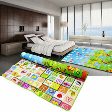 Baby Kid Toddler Crawl Play Game Letter Alphabet Mat Carpet Picnic 200*180cm
