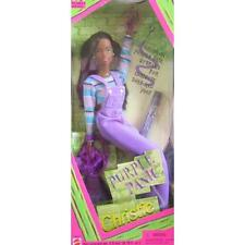 Purple Panic Christie Barbie Doll New