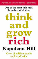Think And Grow Rich, Napoleon Hill - Paperback Book NEW 9780091900212