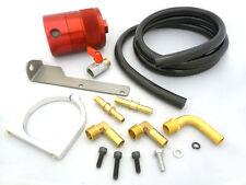 OBX Air Oil Separator 03 04 05 06 07 08 09 Hummer H2 5.3 / 6.0 / 6.3L V8 Red