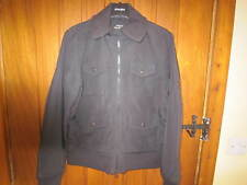 RALPH LAUREN POLO JEANS Black Jacket Size Medium UK10-12 Very Good Condition