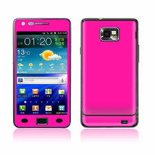 Samsung Galaxy S 2 II I9100 Cover Skin Decal Sticker Vinyl Mobile Adhesive Case