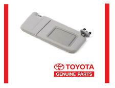 2007-2011 TOYOTA CAMRY GRAY  SUN VISOR RIGHT PASSENGER SIDE WITH VANITY LIGHT