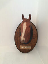 Beswick The Minstrel Horse Head on Plaque with Sign - Amazing Item and Unique