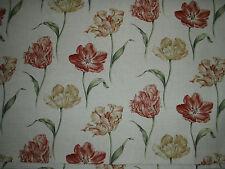"""SANDERSON CURTAIN FABRIC DESIGN """"Bloom"""" 2.1 METRE (210 CM ) LINEN MIX DOAIBL206"""