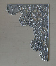 NEW - Metal Cutting Die - GEARS BACKGROUND Cogs Sprockets Steampunk Mixed Media