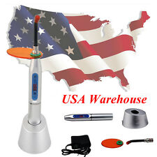 Super Dental 10W Wireless Cordless LED Curing Light Lamp Machine 2000mw US Sale