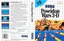 POSEIDON WARS  3-D              -----   pour SEGA MASTER SYSTEM  // PN